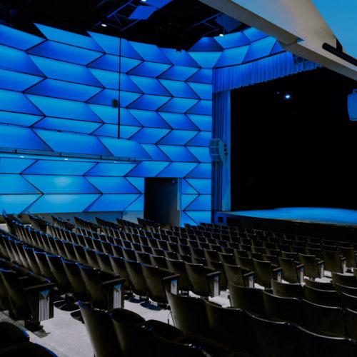 illuminated performance theatre