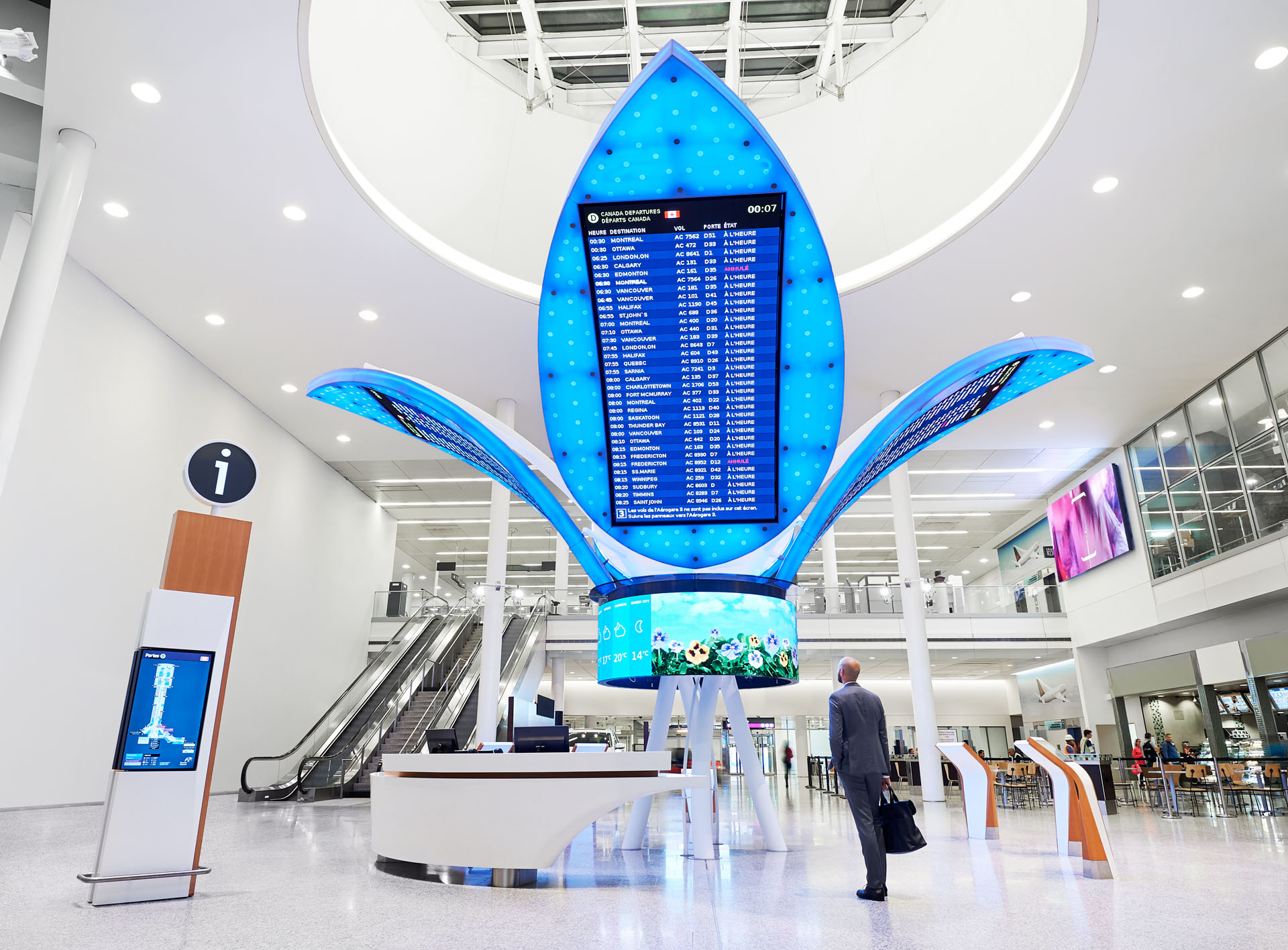 airport information zone