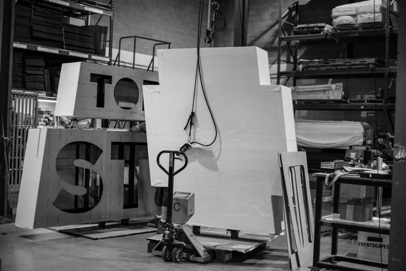 3d digital sign fabrication