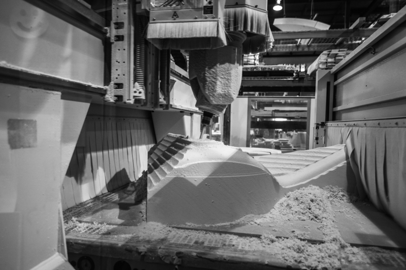 5-axis-cnc milling foam