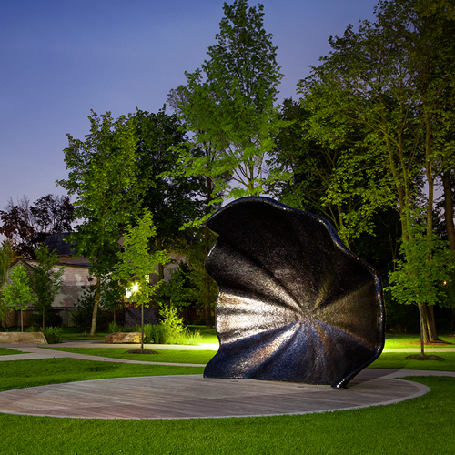 acoustic shell in park