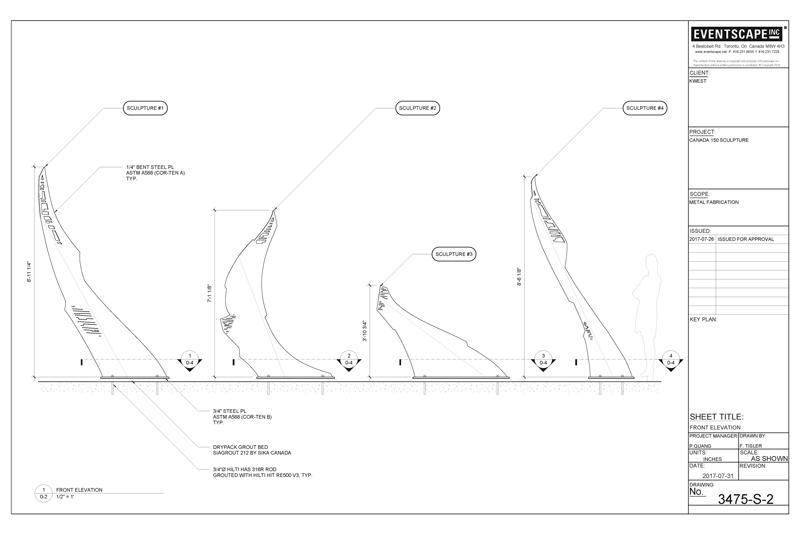 metal fabrication design drawing
